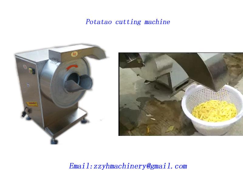 547e80df5e1 Potato cutting machine
